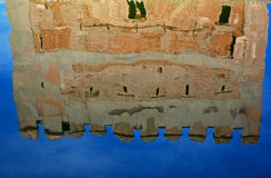 Alhambra palace, water reflection royalty free stock images