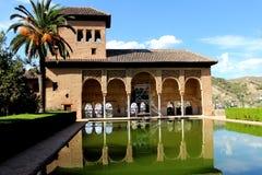 Alhambra. Palaco nazaries granada Stock Photography