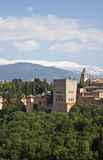 Alhambra-Palast Lizenzfreie Stockfotos