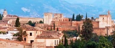Alhambra-Palast, Granada, Stockbilder