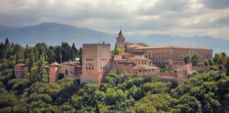 Alhambra-Palast in Granada, Spanien. Stockfotografie