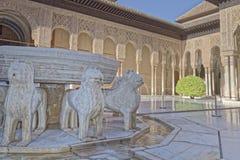 Alhambra-Palast, Granada, Spanien Lizenzfreies Stockbild