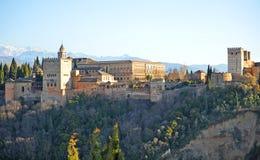 Alhambra-Palast, Granada, Spanien Stockfotos