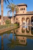 Alhambra-Palast - Granada Spanien Stockfotografie