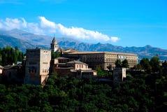 Alhambra Paleis Stock Fotografie