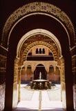 Alhambra paleis Royalty-vrije Stock Afbeeldingen