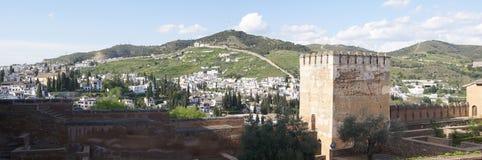 Alhambra panorama Stock Photo