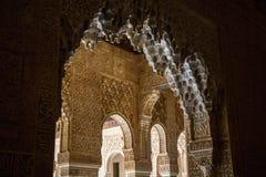 Alhambra, Patio de los Leones Royalty Free Stock Image