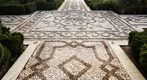 Alhambra Pebble Mosaic Royalty Free Stock Images