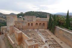 Alhambra przy Granada, Hiszpania zdjęcia stock