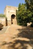 Alhambra - Puerta de la Justicia Fotos de Stock Royalty Free
