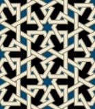 Alhambra Seamless Pattern. Traditional Arabic Design Seamless Pattern stock illustration