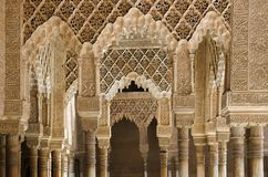 Alhambra slott Arkivbilder