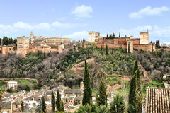 Alhambra Fotografering för Bildbyråer