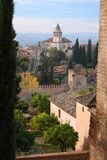 alhambra spain royaltyfri foto
