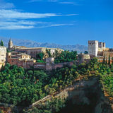 Alhambra, Spain Stock Images