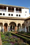 Alhambra Spanien Arkivbild