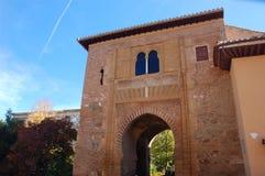 alhambra tornwine royaltyfria foton