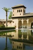 Alhambra - torre de las señoras Fotos de archivo libres de regalías