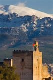 Alhambra tower Royalty Free Stock Photography