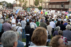Alhambra Town Hall on Healthcare Reform Stock Image