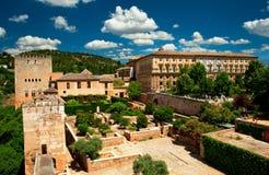 alhambra trädgård Royaltyfri Bild