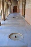 alhambra uteplats Fotografering för Bildbyråer