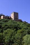 alhambra väggar Royaltyfri Foto