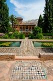 Alhambra van Granada Royalty-vrije Stock Afbeeldingen