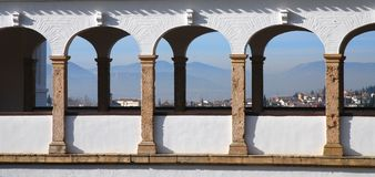 Alhambra View - Granada Stock Images