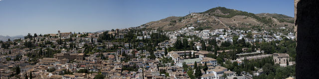 Alhambra views Stock Photo