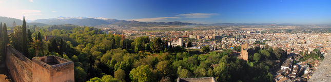 Alhambra Vista royalty free stock image