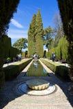 Alhambra von Granada, Andalusien, Spanien Lizenzfreies Stockbild