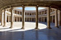 Alhambra von Granada, Andalusien, Spanien Lizenzfreie Stockfotos