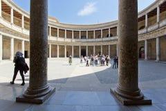 Alhambra von Granada, Andalusien, Spanien Lizenzfreie Stockbilder