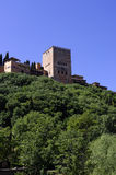 The Alhambra walls. Royalty Free Stock Photo