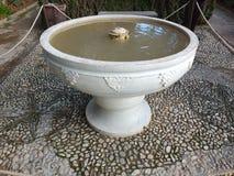 Alhambra Water Feature Arkivbild