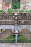 Alhambra Water system Arkivbilder