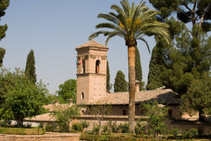 alhambra widok Granada Zdjęcie Royalty Free