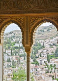 Alhambra window Stock Images