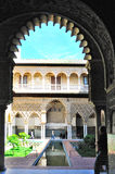 Alhambra Window-Ansicht Lizenzfreies Stockfoto