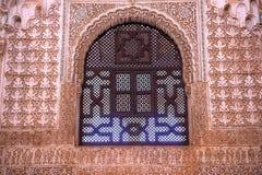 Alhambra Window Moorish Wall Designs Grenade Andalousie Espagne Image libre de droits