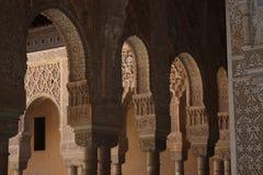 alhambra wyładowań łukowych Obrazy Royalty Free