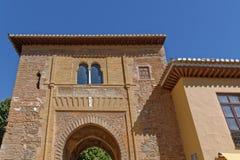 Alhambra yttersida Royaltyfria Bilder