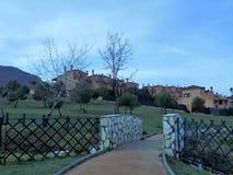 ALHAURIN DE LA TORRE-Retamar Parque Foto de Stock Royalty Free