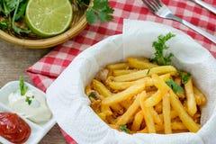 Alho e salsa Fotografia de Stock