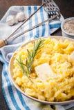 Alho Herb Mashed Potatoes fotos de stock