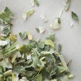 Alho-porro selvagem secado Foto de Stock Royalty Free