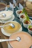 Aliño de ensaladas Foto de archivo