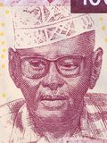 Ali Ahmed Oudum ein Porträt lizenzfreies stockbild